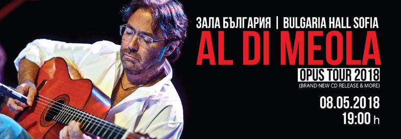 Al Di Meola |  Sofia 08.05.2018