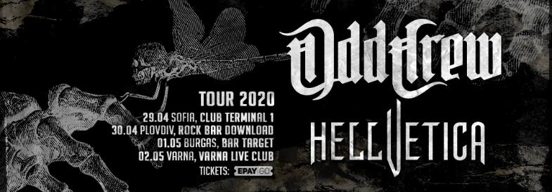 Odd Crew & Hellvetica Short Spring Tour
