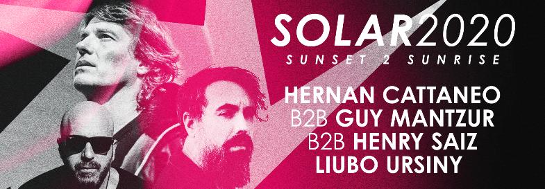 SOLAR 2020: SUNSET 2 SUNRISE