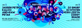 Metropolis pres. Summer Camp Electric Blue